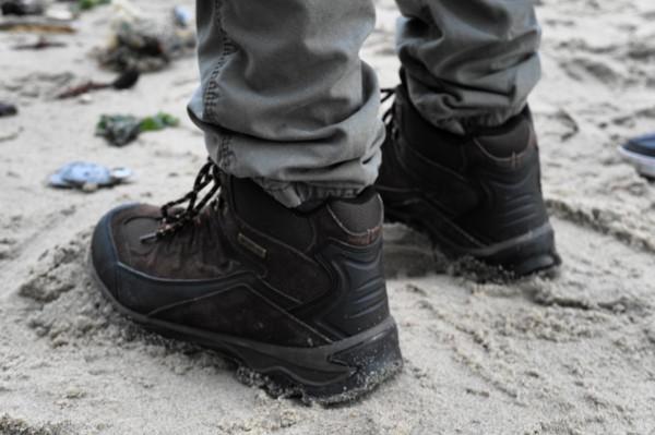 Stevige schoenen, altijd handig en warm