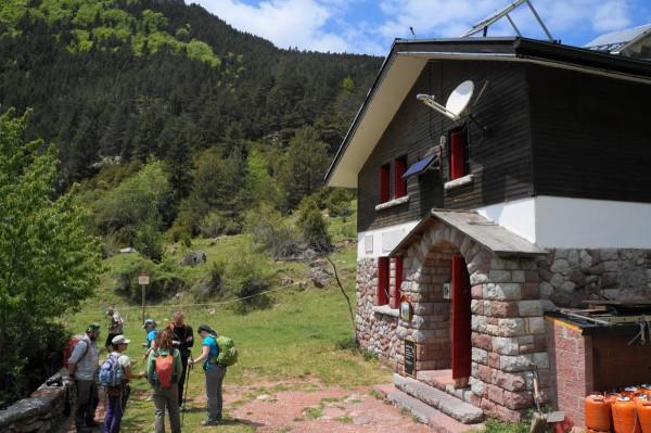 Els Empedrats weer vertrekken bij refugi San Jordi