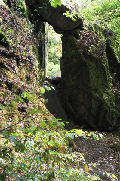 Cascades de Murel hier huist de duivel